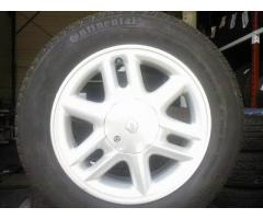 4 jantes alu Renault continental 185 / 65 r / 15