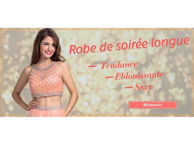 Robedesoireelongue.fr propose les robes de cérémonie longues sur mesure