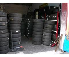 Important stock de pneus et jantes occasions